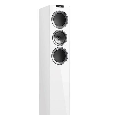 KEF R700 白色 高保真音响 Hi-Fi扬声器 高配家庭影院扬声器 发烧同轴音箱 落地主箱 一对产品图片5