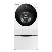 LG 14KG大容量韩国原装进口 蒸汽除菌 速净喷淋 波轮滚筒二合一洗衣机 白色 WDFH457C0SW