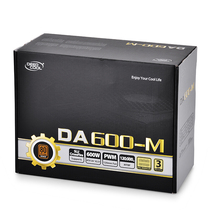 九州风神 额定600W DA600-M台式机电脑电源 (80PLUS铜牌/全模组/120mm风扇/电脑电源/稳稳吃鸡)产品图片主图