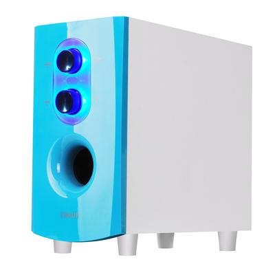 恩科 恩科  E60B 电脑多媒体笔记本木质蓝牙音箱 2.1组合台式音响低音炮支持U盘 蓝色产品图片4
