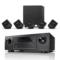 天龙 音响 音箱 5.1家庭影院 高保真 Hi-Fi发烧级 卫星箱套装SYS2020  黑色+功放AVR-X518CI产品图片3