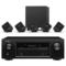天龙 音响 音箱 5.1家庭影院 高保真 Hi-Fi发烧级 卫星箱套装SYS2020  黑色+功放AVR-X518CI产品图片4