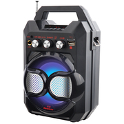 纽曼  K88 大功率户外广场舞音响 便携式手提蓝牙音箱低音炮 插卡迷你扩音器 银色