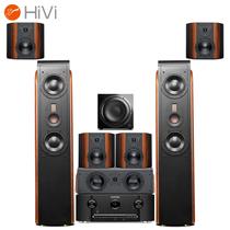 惠威 D3.2MKIII+马兰士(MARANTZ)SR5012 音响 7.1声道家庭影院 客厅功放低音炮套装 木质 全景声产品图片主图