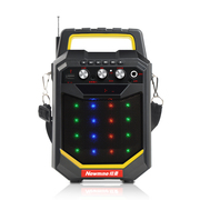 纽曼  K66 户外大功率广场舞音响 低音炮蓝牙便携式手提音箱插卡音箱扩音器 黄色