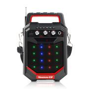 纽曼  K66 户外大功率广场舞音响 低音炮蓝牙便携式手提音箱插卡音箱扩音器 红色