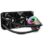 九州风神 堡垒240RGB一体式水冷CPU散热器(智能控温/RGB光控/全平台/24CM冷排/支持AM4/吃鸡利器)