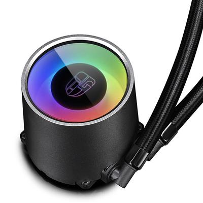 九州风神 堡垒240RGB一体式水冷CPU散热器(智能控温/RGB光控/全平台/24CM冷排/支持AM4/吃鸡利器)产品图片2