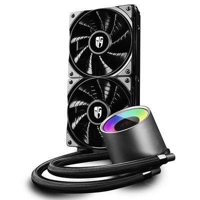 九州风神 堡垒240RGB一体式水冷CPU散热器(智能控温/RGB光控/全平台/24CM冷排/支持AM4/吃鸡利器)产品图片3