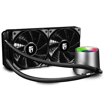 九州风神 堡垒240RGB一体式水冷CPU散热器(智能控温/RGB光控/全平台/24CM冷排/支持AM4/吃鸡利器)产品图片4