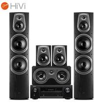 惠威 D60HT+天龙 DENON X518 AV功放 5.0声道家庭影院组合音响套装 家用KTV音箱音响产品图片主图