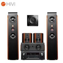 惠威 D3.2MKIIIHT+天龙(DENON) AVR-X1400H 5.1声道家庭影院音响功放组合 客厅高保真音箱套装产品图片主图