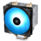 九州风神 玄冰400幻彩版CPU风冷散热器(多平台/支持AM4/4热管/智能温控/幻彩/12CM风扇/附带硅脂)产品图片1
