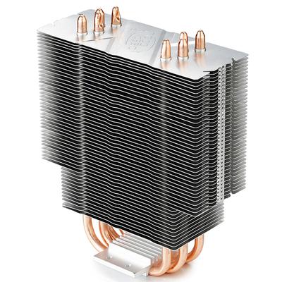 九州风神 玄冰400幻彩版CPU风冷散热器(多平台/支持AM4/4热管/智能温控/幻彩/12CM风扇/附带硅脂)产品图片5