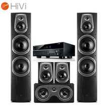 惠威 D60HT音箱+雅马哈(Yamaha)RX-V379功放 音响 音箱 家庭影院音响套装 5.0声道落地影院产品图片主图