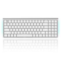 ROYAL KLUDGE速写 蓝牙 有线双模式 96键机械键盘 矮轴机械轴 纤薄高端办公键盘 白色 茶轴产品图片主图
