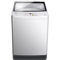 TCL 9公斤 变频全自动波轮洗衣机 玻璃阻尼盖板 智能模糊控制 一级能效(透明黑)XQB90-S300B产品图片主图