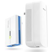 TP-LINK 1000M无线电力猫套装 电力线WiFi扩展穿墙宝 信号放大 搭配路由器使用 TL-PA1000&PA1000W