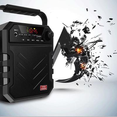 万利达 音响蓝牙音箱户外手提便携式广场舞音响可插卡U盘 X11黑色产品图片4