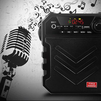 万利达 音响蓝牙音箱户外手提便携式广场舞音响可插卡U盘 X11黑色产品图片5