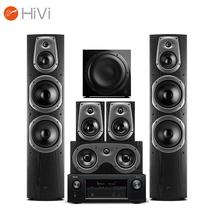 惠威 D60HT+天龙AVR-X1400H功放 家庭影院音响套装 5.1声道客厅KTV电视音箱产品图片主图