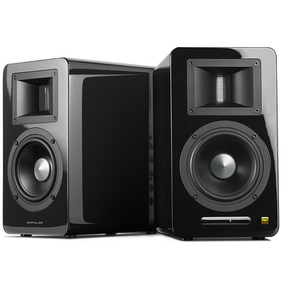 漫步者 AIRPULSE A100 立体声有源书架音箱 客厅音响 电视音响 黑色产品图片2