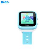 KIDO 儿童手表K2S 移动4G 智能儿童电话手表 360度安全防护 IP65级防水 小小天才男孩礼物 6重定位? 学生蓝色