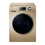 统帅 海尔纤维级防皱烘干 10公斤洗烘一体变频滚筒洗衣机 空气洗 下排水TQG100-@HBX1466G