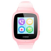 360 儿童电话手表SE3 Plus 智能语音问答拍照安全定位 儿童手表 W705 儿童学生腕式手机手环 樱花粉产品图片主图
