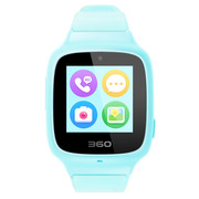 360 儿童电话手表SE3 Plus 智能语音问答拍照安全定位 儿童手表 W705 儿童学生腕式手机手环 天空蓝
