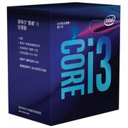 英特尔  i3 8100 酷睿四核 盒装CPU处理器