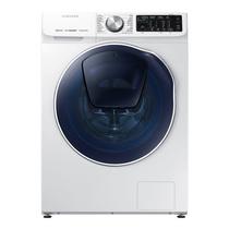 三星 9公斤洗烘一体滚筒洗衣机 双驱双电机 安心添 高温煮洗 泡泡净洗WD90N64FOOW/SC(白)产品图片主图