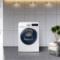 三星 9公斤洗烘一体滚筒洗衣机 双驱双电机 安心添 高温煮洗 泡泡净洗WD90N64FOOW/SC(白)产品图片3