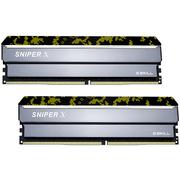 芝奇  Sniper X 狙击系列 DDR4 3600频 16G(8Gx2)套装 台式机内存(空军款)