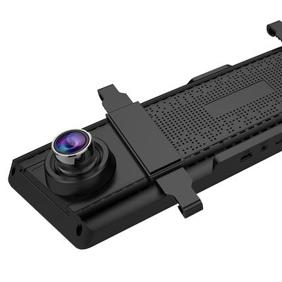 凌度 HS780D 行车记录仪 流媒体后视 全面屏显示 无光夜视高清  固定测速一体 倒车可视产品图片3