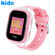 KIDO 儿童手表F1 移动4G 智能儿童电话手表 360度安全防护 IP68级防水 小小天才男孩礼物 6重定位  学生粉色
