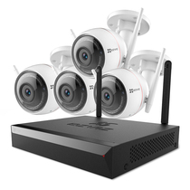 萤石 200万无线监控套装X5C 8路1T硬盘 4台1080P无线枪机监控摄像头 家用商铺工程产品图片主图