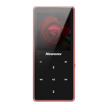 纽曼 mp3播放器 A66 红色 8G 无损音乐播放器 迷你随身听学生便携HIFI 带触摸mp3/mp4(不配耳机)产品图片主图