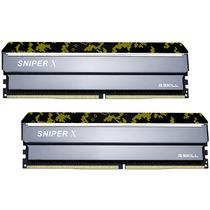芝奇  Sniper X 狙击系列 DDR4 3200频 16G(8Gx2)套装 台式机内存(空军款)产品图片主图
