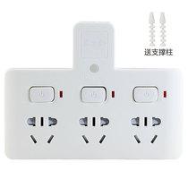 惠尔金 TF-233灯一转三带小夜灯带儿童保护门分控开关插座/转换插头/转换器产品图片主图