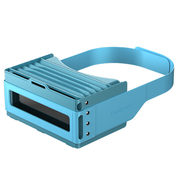 Focalmax 手风琴VR眼镜 3D虚拟现实眼镜 近视可佩戴(蓝色)