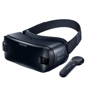 三星 gear VR 5代头戴智能VR眼镜 3D虚拟现实 智能手柄 3D头盔 低延迟 大视角