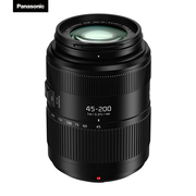 松下 45-200mm F4.0-5.6 微单单电长焦变焦镜头 (35mm相机等效:90-400mm)远摄变焦