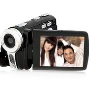 欧达 进口  V6数码摄像机DV全高清家用旅游智能双重防抖2000万像素16倍变焦风声消除摄录机