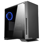 先马 黑洞 玻璃版 电脑游戏主机箱 (标配3把风扇/ATX-Ⅱ结构/宽体侧透/支持水冷/高散热器/长显卡)