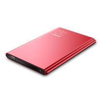 忆捷 G70 9.9毫米超薄全金属2.5英寸TYPE-C 3.1高速移动硬盘1T 红色产品图片主图