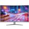 泰坦军团 C32SQ Plus 31.5英寸 2K 1800R曲面屏144HZ吃鸡高清电竞显示器 DP+DVI+HDMI接口产品图片1