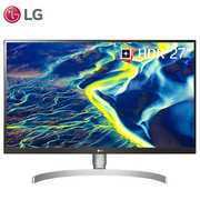 LG 27UK650 27英寸 HDR 10 UHD 4K超高清 FreeSync 支架可升降  三面微边框 IPS显示器