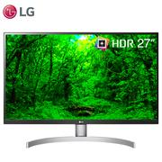 LG 27UK600 27英寸 UHD4K 超高清 HDR 10 sRGB 99% FreeSync 三面微边框 IPS显示器