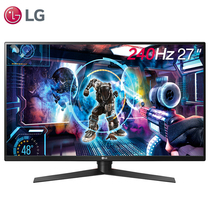 LG 27GK750F-B 27英寸 240Hz  AMD FreeSync 1ms响应 液晶显示器产品图片主图